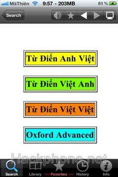MDict - Từ điển đa ngôn ngữ cho iOS