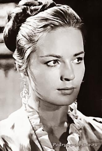 Людмила Чурсина/ 12 самых красивых и сексуальных актрис 20 века.
