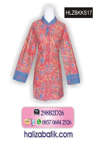 grosir batik pekalongan, Model Baju Terbaru, Blus Batik Terbaru, Blus Wanita