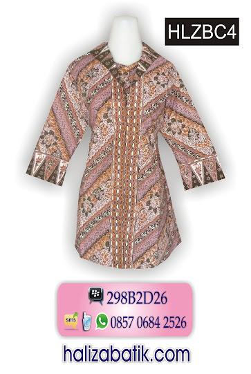 baju kerja, jenis jenis batik, model baju atasan batik wanita