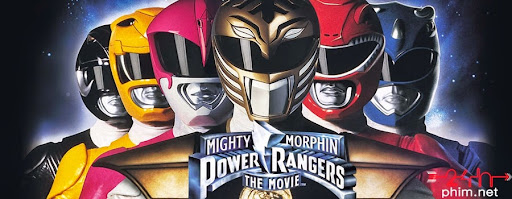 24hphim.net key art mighty morphin power rangers Siêu Nhân Khủng Long