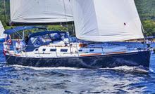 J/160 sailing Penobscot Bay