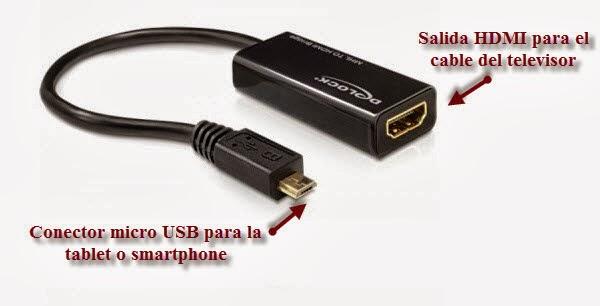 Conectar Tablet O Cel Al Tv Para Convertirlo En Smart T