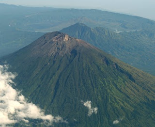 Mount Agung Indonesian Mountain at Bali