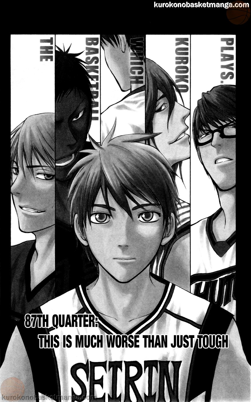 Kuroko no Basket Manga Chapter 87 - Image 01