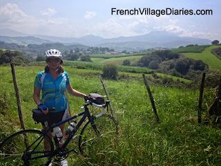 French Village Diaries Pendleton Initial Pyrenees Pays basque France
