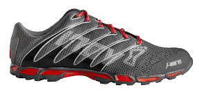 Inov-8 f-lite 195 in Gray, Gray, and Red