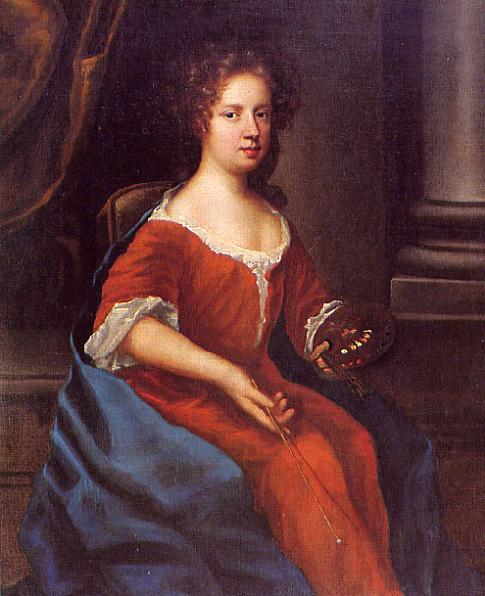 Mary Beale - Self-portrait, 1675