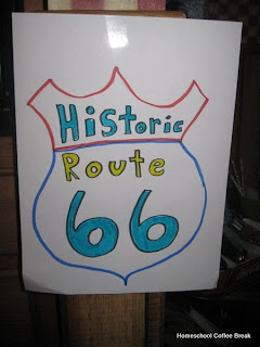 History Lesson: Route 66 on Homeschool Coffee Break @ kympossibleblog.blogspot.com