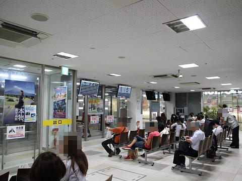 JR名古屋駅新幹線口バスターミナル 待合室
