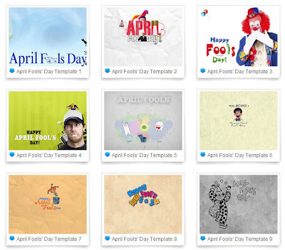 April Fools' Day PowerPoint templates