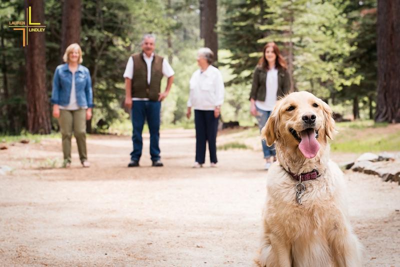 Lake Tahoe Family Portrait