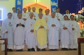 Kim khánh linh mục và thượng thọ bát tuần cha Phaolô Nguyễn Thọ, DCCT