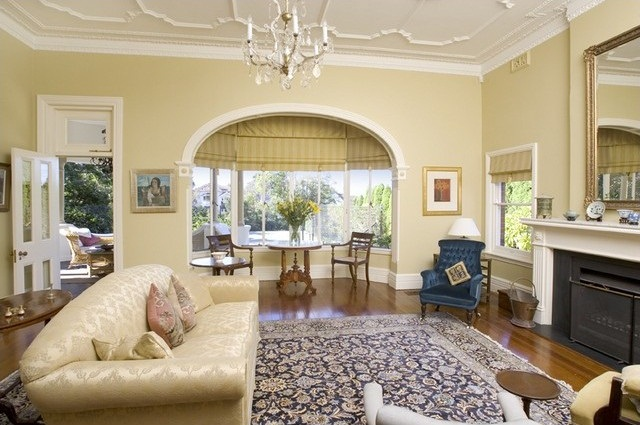 The bay window as a nook for taking tea, at 6 Buena Vista Avenue  Clifton Gardens