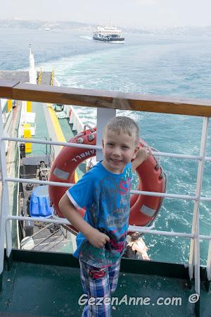 feribotta, Marmara Denizi hatırası