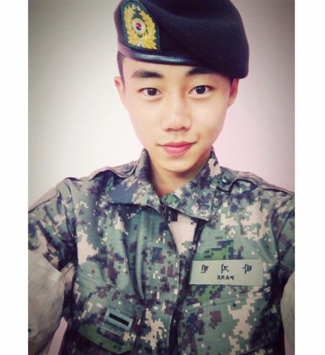 Diễn viên Park Ji Bin chính thức hoàn thành nghĩa vụ quân sự