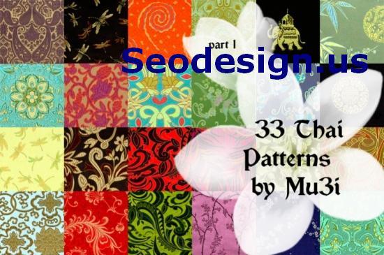 33 Free Thai Photoshop Patterns