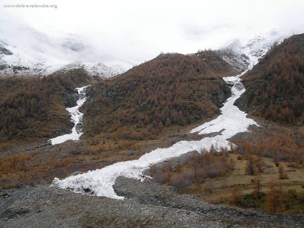 Avalanche Haute Maurienne, secteur Pointe du Charbonnel, Bessans ; Ruisseau de Chenaillon - Photo 1