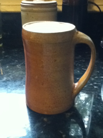 Pottery Beer Stein
