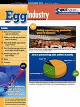 Egg Industry Magazine November 2013 - Free subscribe