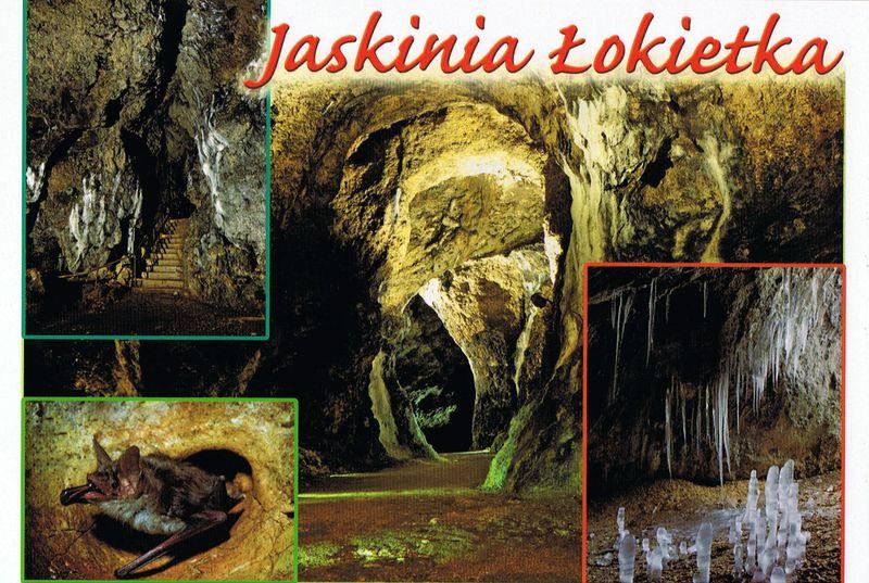 pocztówka jaskini łokietka