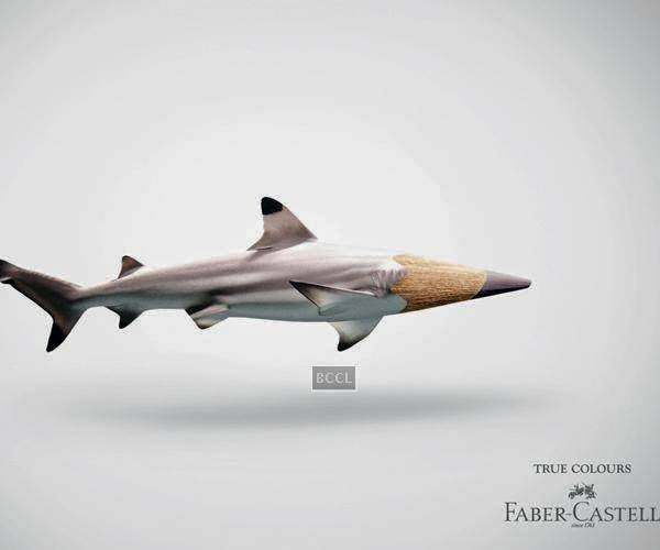 Faber-Castell's pencil colour advertisements became a hight watermark of brand positioning and creativity.