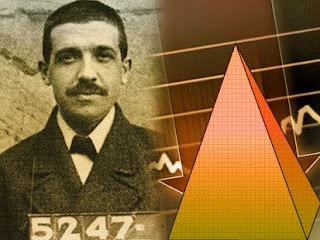 Carlos Ponzi, autor del esquema Ponzi.