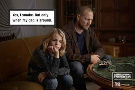 Publicidad contra fumadores