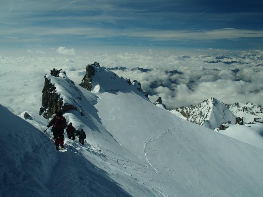 Mont Blanc i Gran Paradiso 2011