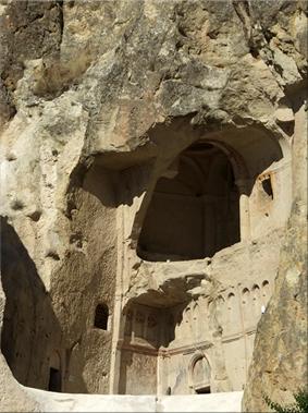 Iglesia Yılanlı  - Museo al Aire Libre de Göreme - Capadocia