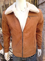 áo da lộn lót lông cừu nam cao cấp
