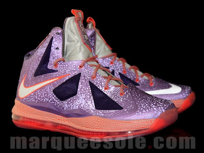 nike lebron 10 gs galaxy 1 05 First Look at Nike LeBron X Galaxy in Kids Sizes