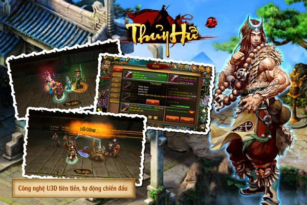 Thủy Hử 3D là trò chơi di động tiếp theo của Soha Game 2