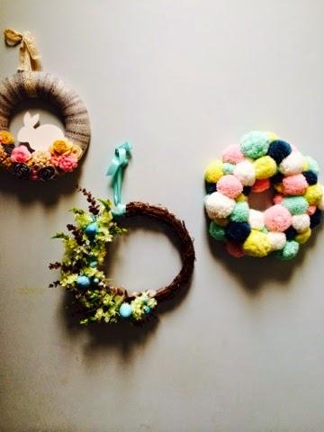 Spring Easter Wreaths - Hobbycraft
