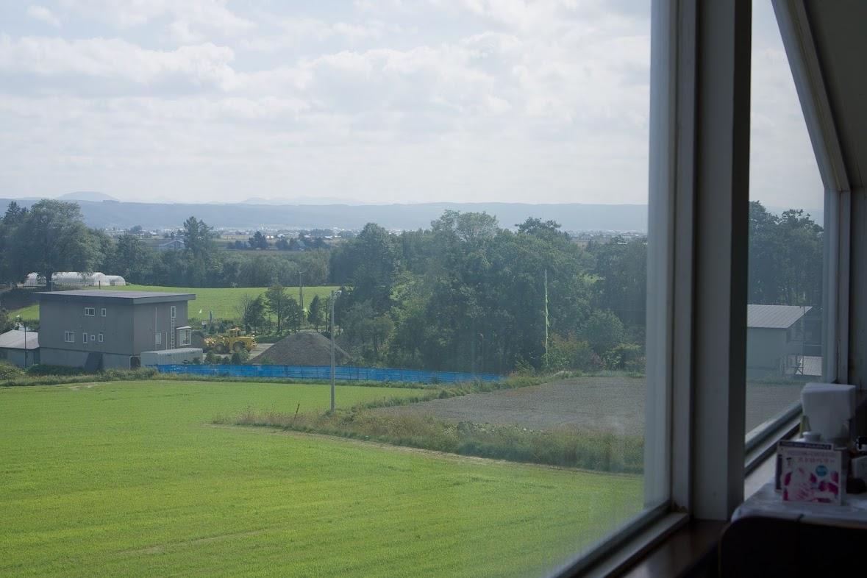 レストラン窓から望む風景
