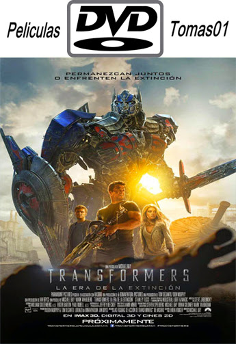 Transformers 4: La era de la extinción (2014) DVDRip