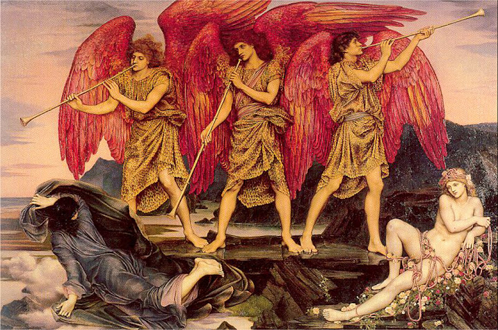 Evelyn De Morgan - Aurora Triumphans (1886)