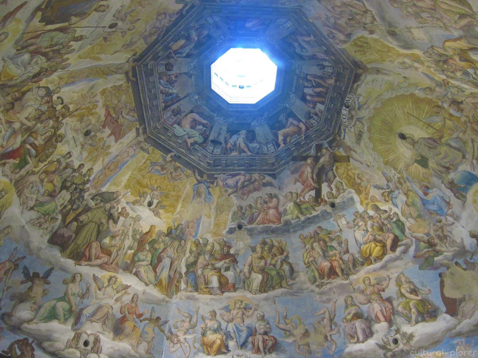 Last Judgment Giorgio Vasari Duomo Florence