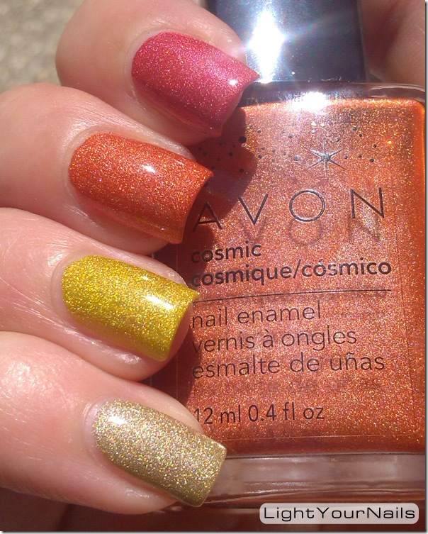 Avon Cosmic skittles Supernova Saturn Starlight Radiant