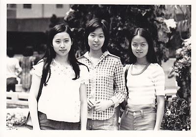 三朵金花 江若蘋、易湘瑩、周美亮。