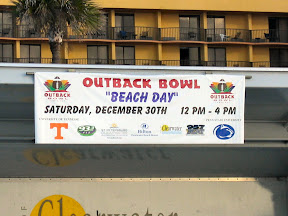 Tampa, Clearwater, and the Outback Bowl