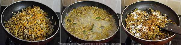 Vazhaipoo Poriyal Recipe - Step3