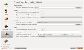 Vlc aceleracion grafica en ubuntu