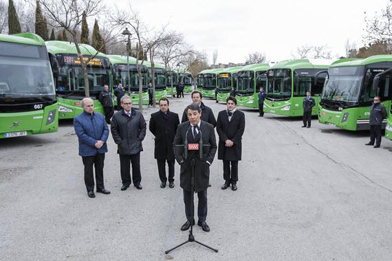 Nuevos autobuses interurbanos para 10 municipios del sur de la empresa DeBlas