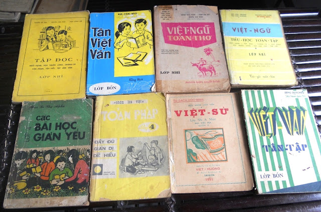 Sách giáo khoa tiểu học cũ - nơi lưu giữ từng trang ký ức DSCN2782