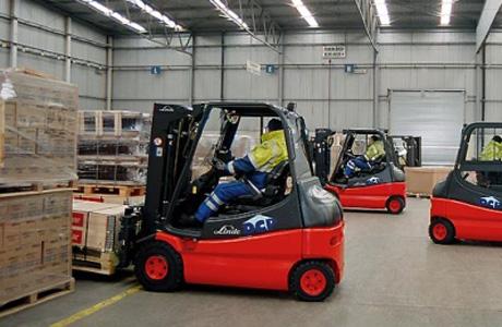 Linde LPG Forklift 1.5 - 3.5 tấn