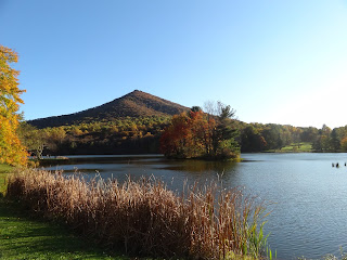 Peaks of Otter, VA - The steep top mountain