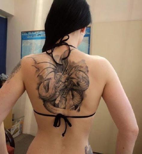 dragon tattoo for men for women
