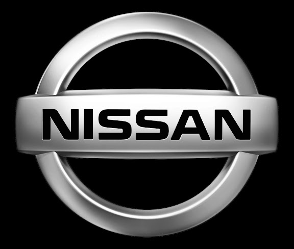 Nissan logo black background