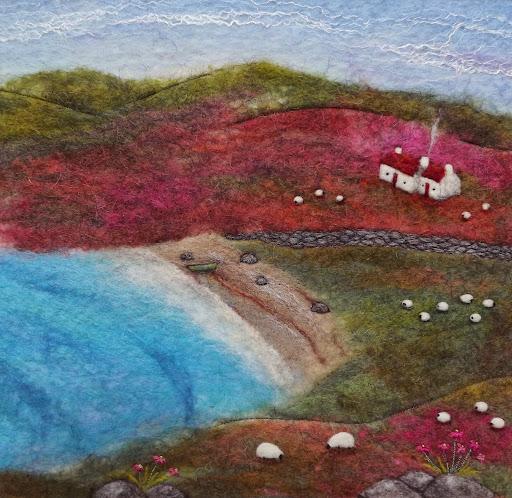 Fisherman's Bothy, by Scottish artist Aileen Clarke